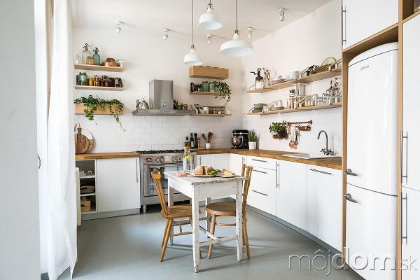 Kuchyňa má obľúbený tvar