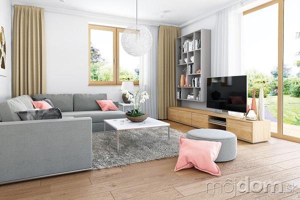 Obývacia časť nepatrí knajväčším,