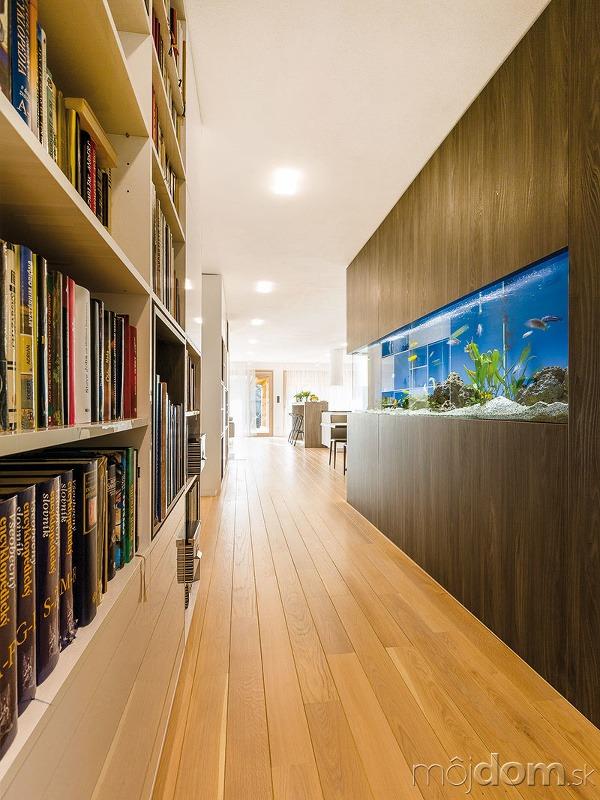 Základ interiéru vytvorila architektka