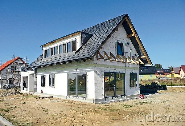 Stavba domu svojpomocne či