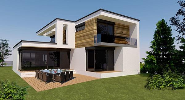 Projekt rodinného domu FRAME