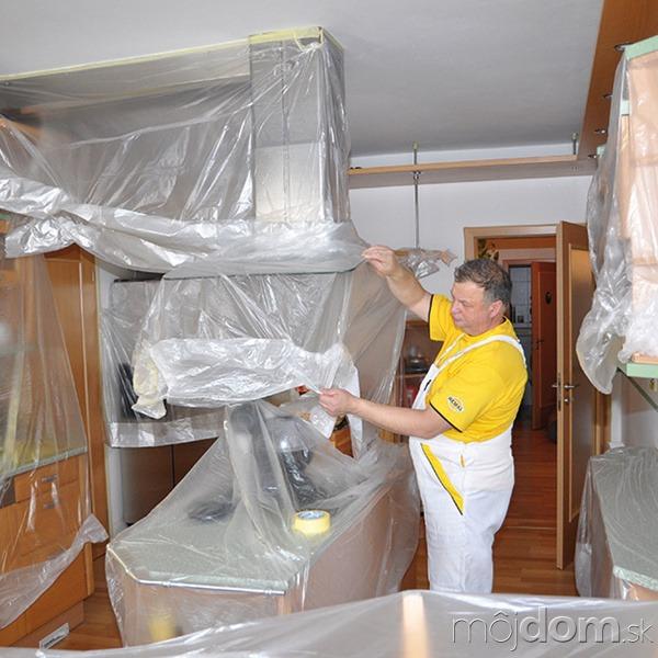 1. Zakrytie nábytku Skôr