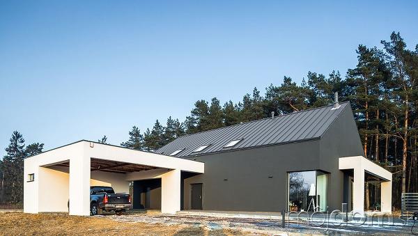 Novostavba na spôsob stodoly: