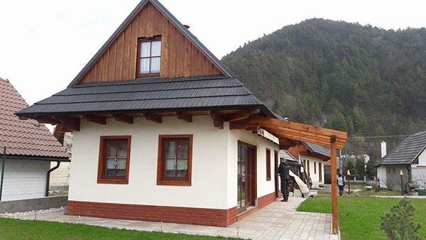 Murovaný alebo drevený dom?