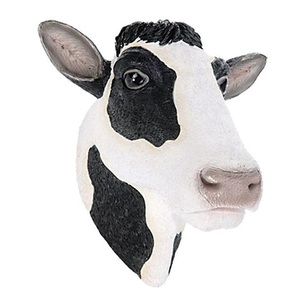 3× DEKORÁCIA hlava kravy