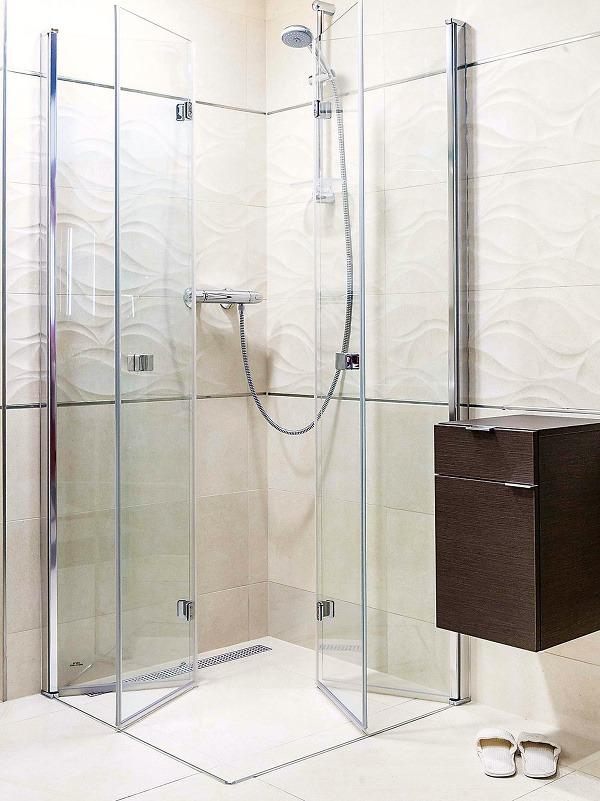 Skladací sprchový kút od
