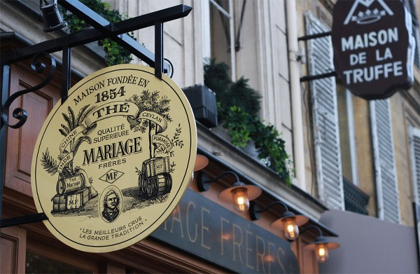 Čaje MARRIAGE FRÉRES, pôžitok