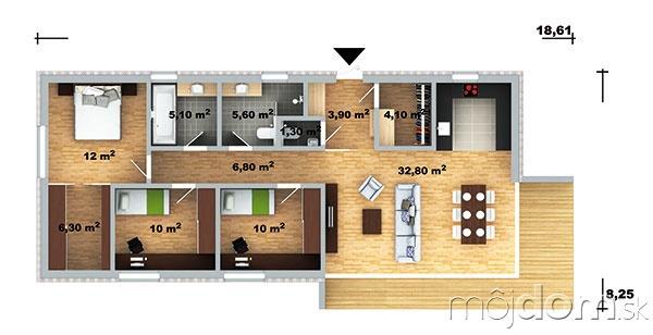 Dom Lucia 39 Pôdorys