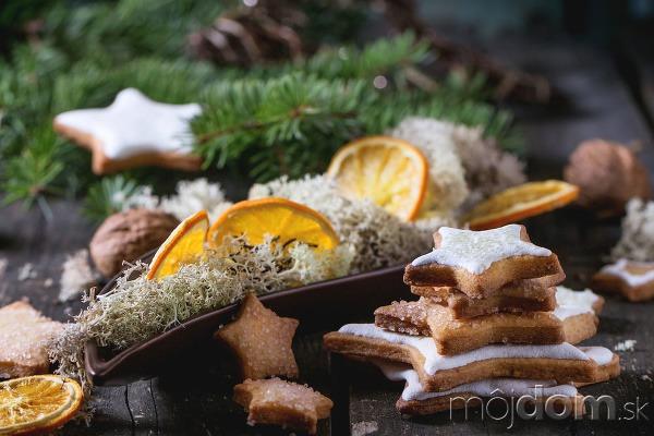 Voňavá vianočná výzdoba zo