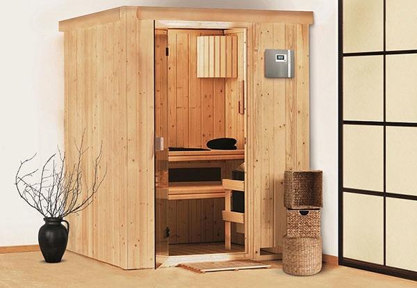 Fínska sauna Heikki
