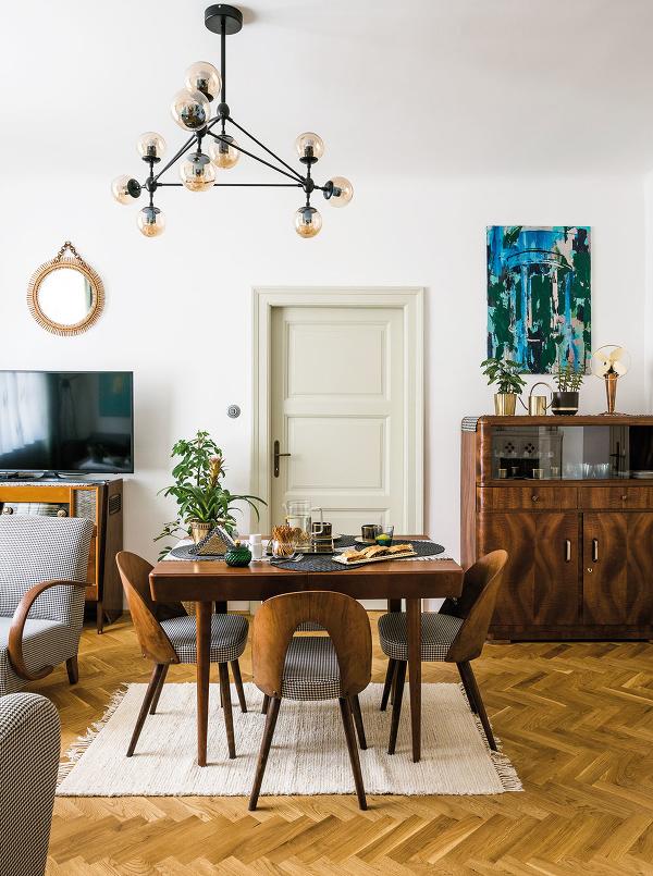 Pôvodné prvky bytu, napríklad