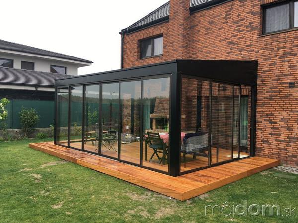 Zimné záhrady alebo úprava