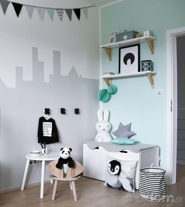 Pri zariaďovaní detskej izby
