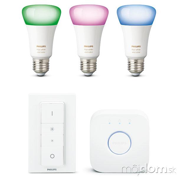 LED žiarovky Philips Hue