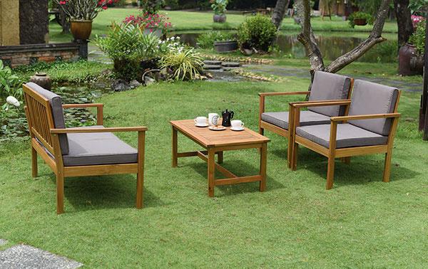 Trendy v záhradnom nábytku