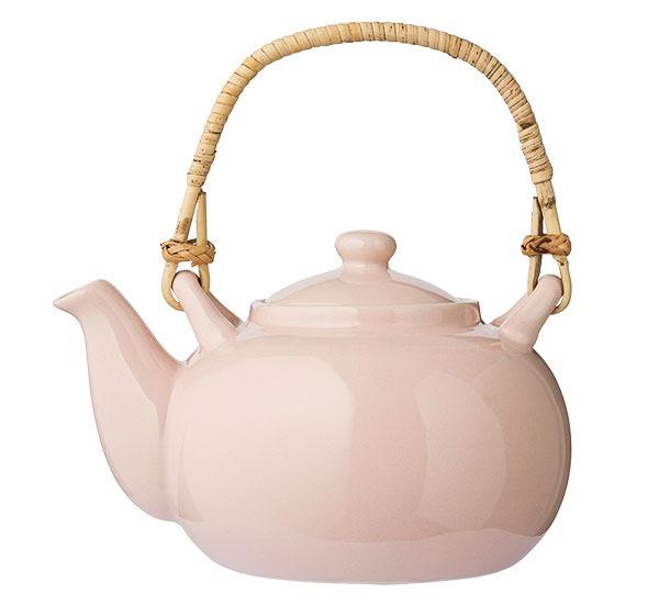 Čajník, kamenina, výška 16