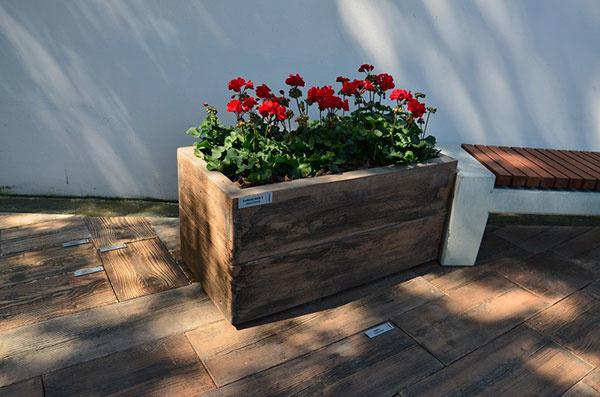 Záhrada v jednotnom štýle