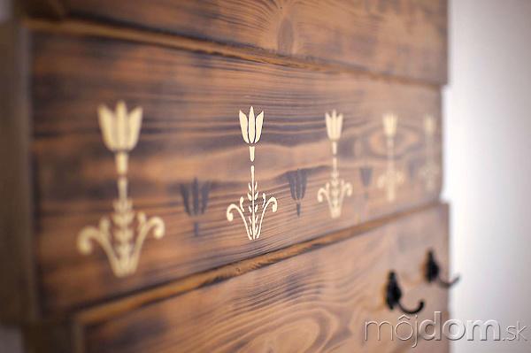 Obložte si stenu opaľovaným