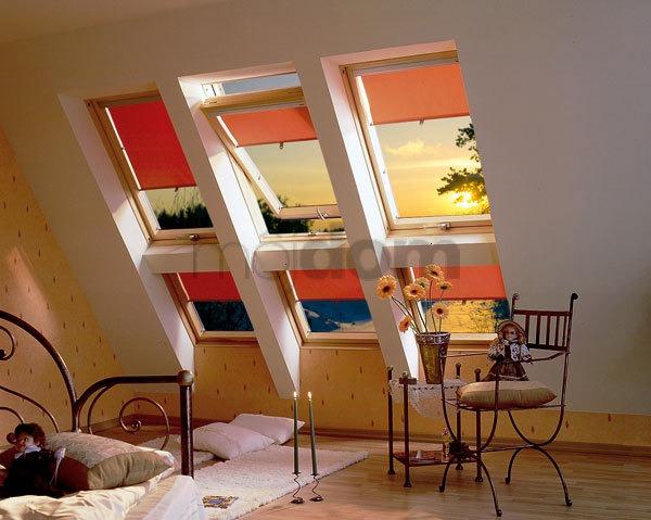 Sklený systém strešných okien