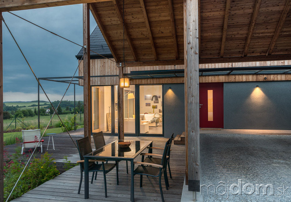 Pasívny drevený dom na