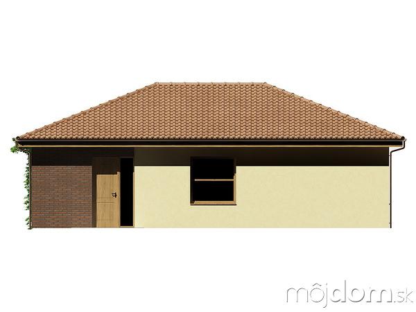 Projekt rodinného domu Kristína