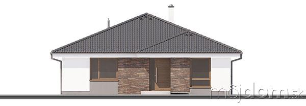 Projekt prízemného rodinného domu