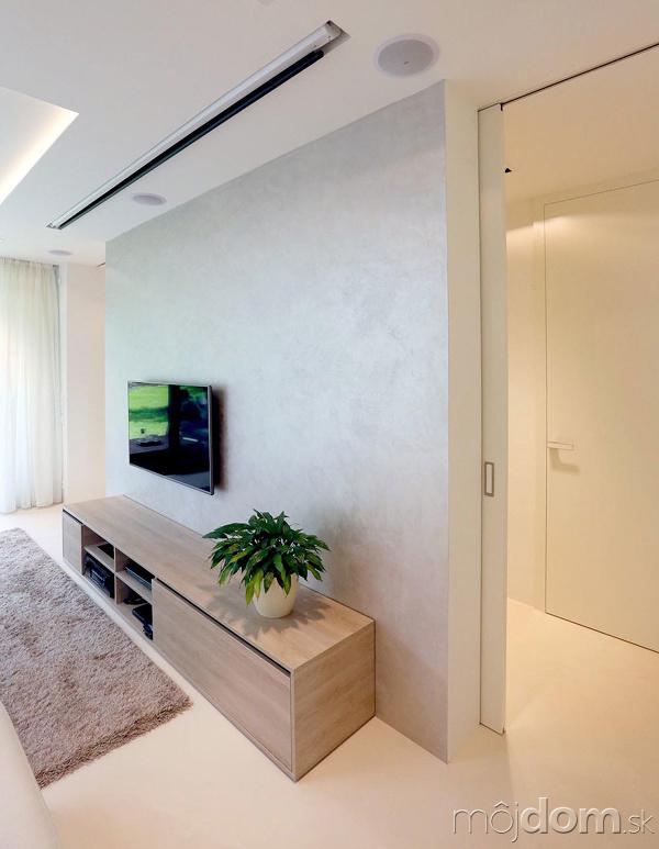 Jednopodlažný murovaný dom, ktorý