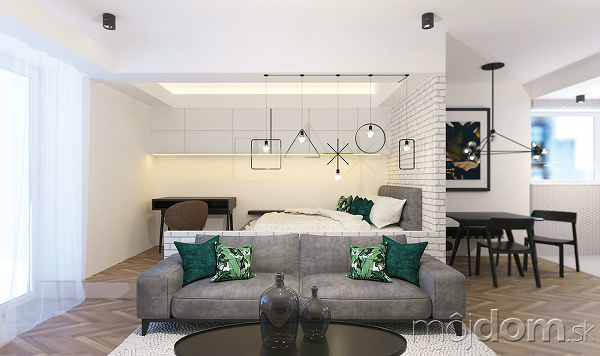 Znížené stropy azvýšená podlahová