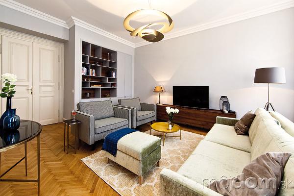 Zrekonštruovaný byt s vysokými