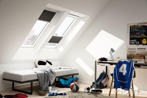 Umiestnenie strešných okien závisí
