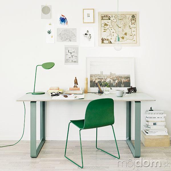 Zelená farba symbolizuje harmóniu