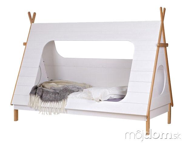 Biela detská posteľ De