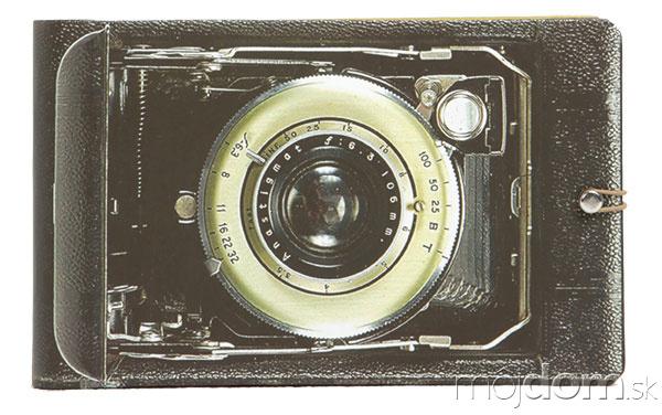 Fotoalbum s motívom fotoaparátu