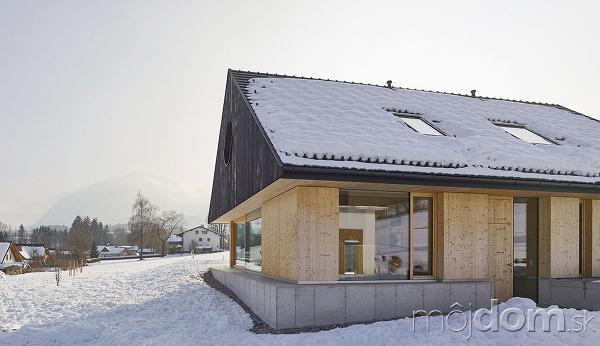 Rodinný dom postavený z
