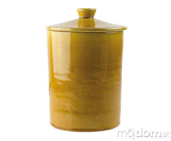 Dekoračná dóza Arai Yellow,