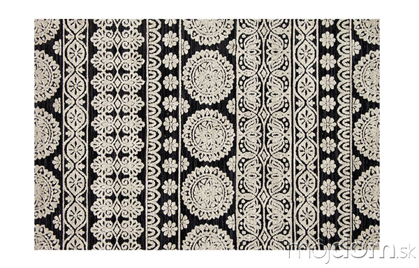 Plyšový koberec, dizajn Joanna
