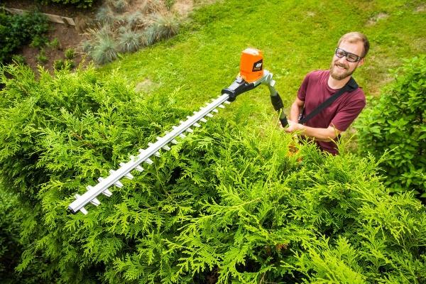 Krásne upravená záhrada po