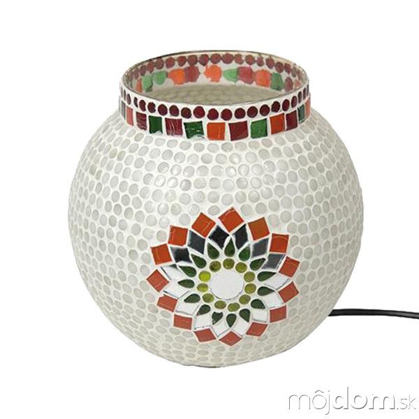 Nočná lampa Ilumi, sklo,