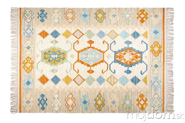 Farebný koberec Kilim, 74