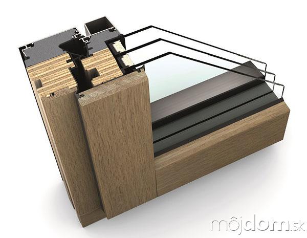 HF 410 rez drevo-hliníkového