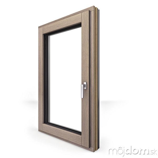 Drevohliníkové Internorm okno HF