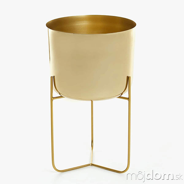 Zlatý železný stojan na