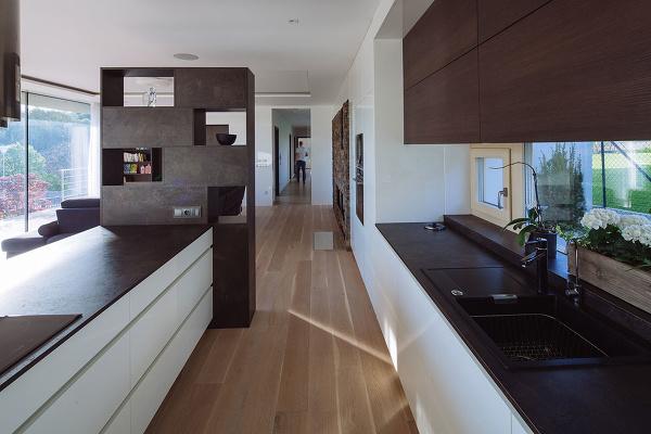 Jednoduchý jednopodlažný dom s