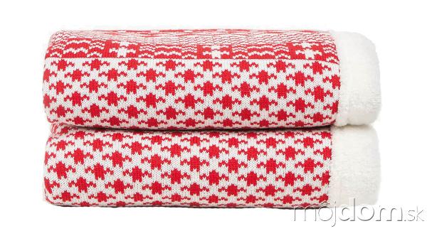 Zateplená deka s vianočným