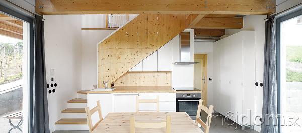 Obytná kuchyňa, ktorá vznikla