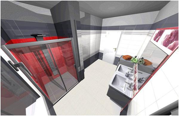 3D návrh kúpeľne s