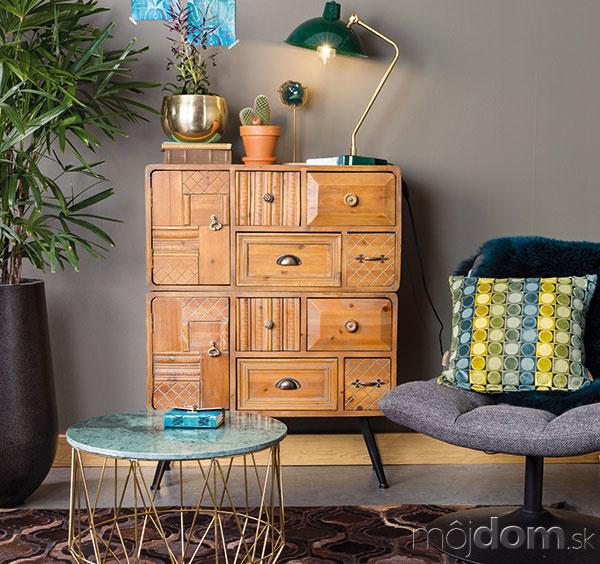 Útulný domov vďaka nábytku