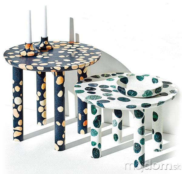 STOLÍKY od talianskeho dizajnéra