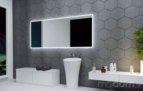 Luxusné zrkadlo sLED podsvietením