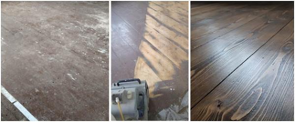 1 / drevená podlaha